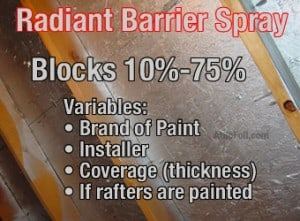 Warehousefoil Vs Paint Warehousefoil Radiant Barrier