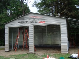 Barn and Shed Installation | WarehouseFoil Radiant Barrier