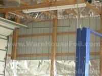 Metal Buildings With Metal Framing Installation Warehousefoil